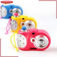 3Pcs/Lot Toys Camera Cute Baby Educational Light Projection 9 Pictures Camera Toy Christmas Birthday Gift Funny Toy For Toddler