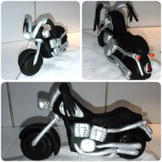 Fondant Harley created by Joanne Andrews
