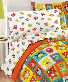 Love this Silly Monsters Comforter Set by CHF Industries on #zulily! #zulilyfinds