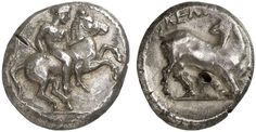 AR Stater. Greek Coin, Cilicia, Kelenderis. About 425-400 BC. 10,50g. SNG von Aulock 5638. Good VF. Starting price 2011: 360 USD. Unsold.