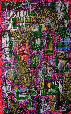 """Saatchi Art Artist Franck de las Mercedes; Collage, """"Psyche Juice"""" #art"""