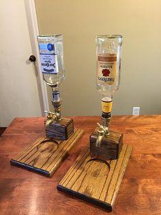 Dispensador de la bebida de madera por TheDustFactory en Etsy