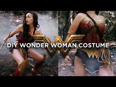 DIY WONDER WOMAN COSTUME | THE SORRY GIRLS | TheSorryGirls - YouTube | Bloglovin'