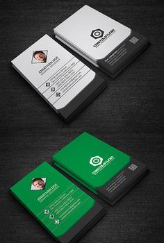 Vertical Corporate Business Card #businesscards