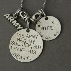 Proud Army wife.just for you Ariel:)