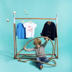 Such Great Heights Wonder Tents conversion to clothes rack via thedesignfiles.net