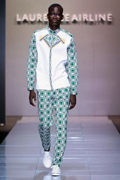 Laurence Airline Spring/Summer 2014 - Mercedes-Benz Fashion Week Sudáfrica   Male Fashion Trends