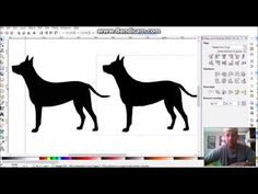 inkscape to scanncut full - YouTube