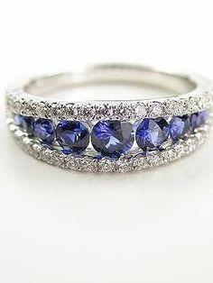 I love Jewelry! Beautiful sapphire and diamond ring. Sapphire Bracelet, Sapphire Jewelry, Sapphire Earrings, Pink Sapphire, I Love Jewelry, Jewelry Design, Antique Jewelry, Vintage Jewelry, Anniversary Jewelry
