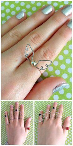DIY Harry Potter Wire Ring Tutorials from Instructables' User Momoluv.Make…