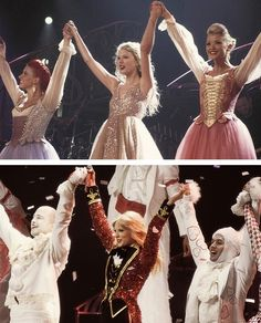 Final bows. Speak Now - RED