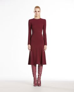 Silk Cady Long-Sleeve Dress by Gucci at Bergdorf Goodman.   $2,700.00