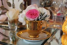 Flower Design Events: Pinks, Gold & Rose Gold for Holly & Scott's Gorgeous Wedding Day at The Great Hall at Mains