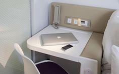 Cabin   Premium  (#Yotel #hotel #modern #design #nyc)