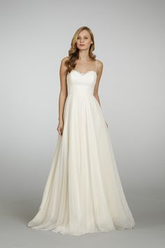 Perfect Wedding Dress for the Rectangle Shaped Bride