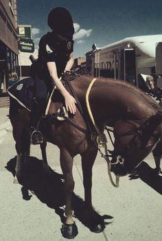 Livingston Police Montana Mounted Patrol