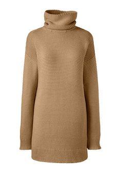 Women's Lofty Turtleneck Tunic Sweater from Lands' End
