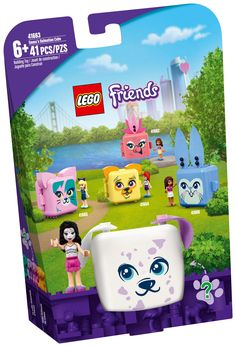 Cubes, Construction Lego, Lego Friends Sets, Cube Toy, Puppy Birthday, Party Scene, Toy Puppies, Birthday Gifts For Kids, Animal Party