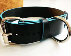Luxury hand crafted leather pet accessories by WhatWilburWants