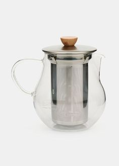 Glass Teapot with Infuser $58