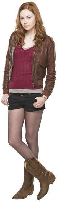 Amy Pond - great A letter fancy dress idea and TV character fancy dress idea