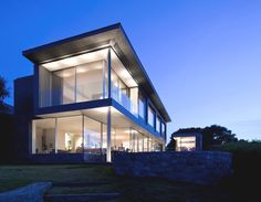 The 'Couin de Vacque Project' located in Guernsey, Channel Islands - Designed by Jamie Falla Architecture
