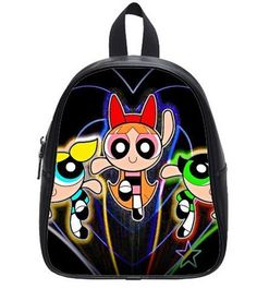 Fancythepowerpuffgirls Printing Backpack Custom High School Students Backpack for Travel or Party *** You can get more details by clicking on the image.
