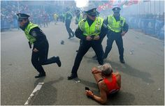 Silver-Haired Silver-Lining to the Boston Marathon Explosions.