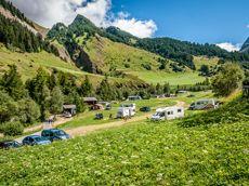 Camping Giessen im Binntal, Wallis