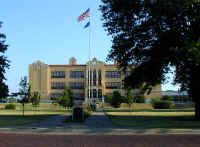 The Ponca City High School was built in 1927 at a cost of $312,097.80. The modified Spanish atmosphere was designed by architects Smith and Senter. When built, it was considered a modern high school containing an auditorium, heating, and ventilation, a large library and individual rooms for typing, music, math, chemistry lab, and home economics classes as well as the usual classrooms. The steps of the school are of natural stone and the cornices are of red Spanish tile. The land the school…