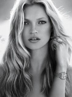 Young Kate Moss, perfect combination of hesitance and confidence for Anna's character.
