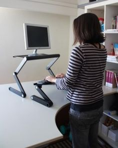 Laptop Standing Desk, Stand Up Desk At Uncagedergonomics