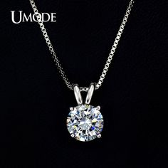 UMODE Necklaces & Pendants Best Quality Hearts & Arrows CZ Pendant Necklace For Women Wedding/Party Jewelry Modern Jewelry, Boho Jewelry, Bridal Jewelry, Fashion Jewelry, Grunge Jewelry, Dainty Jewelry, Etsy Jewelry, Leather Jewelry, Pearl Jewelry