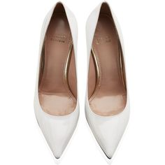 Stuart Weitzman Nouveau Pump ($810) ❤ liked on Polyvore featuring shoes, pumps, heels, high heels, leather high heel shoes, stuart weitzman, stuart weitzman pumps, leather shoes and stuart weitzman shoes