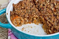 sweet potato oatmeal breakfast casserole...this looks so delish!  {Oh She Glows}