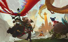 ArtStation - JourneytoFairyland, xi zhang