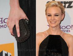 carey mulligan bottega veneta dress | Carey Mulligan In Bottega Veneta – 15th Annual Hollywood Film Awards ...