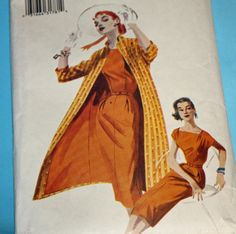 Butterick 6632 Sewing Pattern Retro 50s Pattern by Old2NewMemories, $17.50