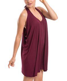 Look what I found on #zulily! Cabernet Drape Rita Racerback Shift Dress #zulilyfinds