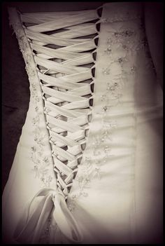 I would love to wear a corset style wedding dress!
