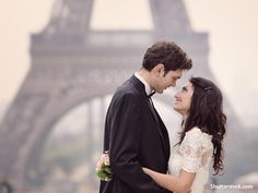people have attraction, and the scens is, onn wedding paris