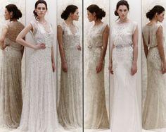 Roaring '20s style #wedding dresses back in style.   Via @BuffaloBrides.com.com.com.com.com