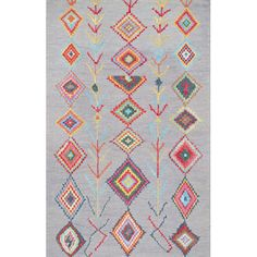 Found it at AllModern - Grey Hand Tufted Area Rug