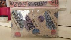 Printed linen makeup bag @The Bath Artisan Market april 13