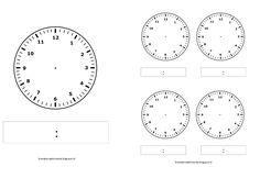 groep: 3 t/m 8   werkgebied: taal en rekenen   thema: n.v.t.    In het vorige bericht had ik een aantal formats gemaakt om te gebruiken b... Kids Class, Worksheets, Kindergarten, Classroom, Teaching, Activities, Math, Telling Time, Index Cards