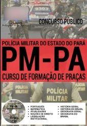 Adquira aqui sua apostila para o concurso público do Estado do Pará. inscrições abertas de 24/05/2016 a 23/06/2016