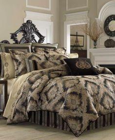 J Queen New York Onyx California King Comforter Set