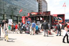 We worked with Piaggio to create a stir around two wheel transport at motoring events across the UK and Europe. #Roadshow #Campaign