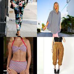 Ponchos? FLORAL hot pants?? GRANNY PANTY bikini bottoms??? ANIMAL PRINT HAREM PANTS???? Sorry, 2012 Fashion: I'll be sitting this season OUT.