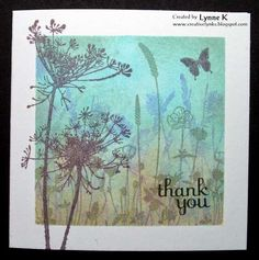 Gorgeous card by Lynne on Creative Lynks